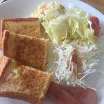 Cafe Makiru - 料理写真:フレンチセット