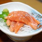 湖国料理 やまじん - 琵琶鱒刺身
