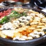 湖国料理 やまじん - 煮詰めた鰻鍋