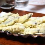 湖国料理 やまじん - 小鮎天麩羅