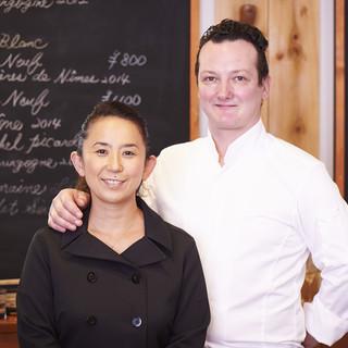 フランスパリの星付きレストランで修業した2人がコラボ