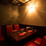牛國 - 【人気の離れ風個室~少人数ではこちら~】落ち着いた空間で落ち着いた空間で楽しい食事をお楽しみください★