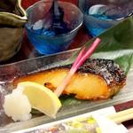自家製銀鱈の西京焼