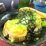 太刀魚(タチウオ)の揚げ出し豆腐