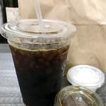 サンクスネイチャー - オーガニックアイスコーヒー480円