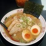 風神らーめん - 料理写真:【風神ラーメン + 味玉子】¥730 + ¥100
