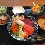 神田 優和ぎ - 日替りの海鮮丼@1,000円