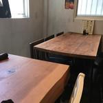神田 優和ぎ - 店内テーブル席
