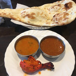 デヴィ インディア - シーフードとキーマカレー