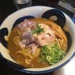 九十九里煮干つけ麺 志奈田 - 純濃煮干そば890円