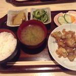 りょうちゃん - ホルモン天ぷら定食