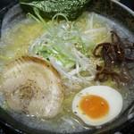 さっぽろ麺屋 文太郎 - 塩ラーメン大盛