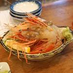 魚三酒場 - ボタンエビ