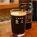 魚三酒場 - アサヒ スーパー ドライ ブラック