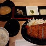 70016807 - 米愛豚ロースとんかつ定食