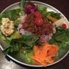 タマエテント - 料理写真:香味野菜のスパイシーキーマカレー(ハーフ)