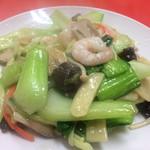 大連 - 海老と野菜炒め