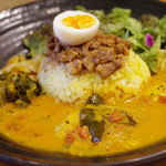 SPICY CURRY 魯珈 - マラバール風牡蠣カレー