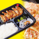 餃子のマサムネ - 餃子弁当 国産手作り!ご飯大盛り無料! ニンニクなしの野菜餃子に変更可!