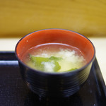 もも瀬 - 味噌汁