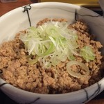 らーめんstyle JUNK STORY - そぼろ肉飯(ランチ価額200円)