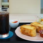 カフェダイニング ソラ - 今日のパンモーニングはフレンチトーストでした(2017.7.14)