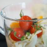 カフェダイニング ソラ - 野菜サラダ、彩りも綺麗です(2017.7.14)