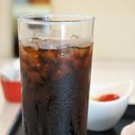 カフェダイニング ソラ - セットドリンクは、アイスコーヒーにしました(2017.7.14)