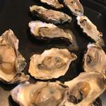 Ginza 澄海 - 焼き牡蠣