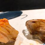 鮨 いしばし - 赤貝・煮ハマグリ