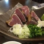 米どころ - 鰹の藁炙り