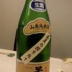 日本酒とおばんざい 北庵 - 早瀬浦・山廃純米