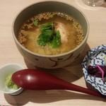日本酒とおばんざい 北庵 - 〆の出汁茶漬け
