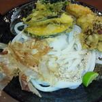さぬき 粉太製麺 - 野菜天ぶっかけ