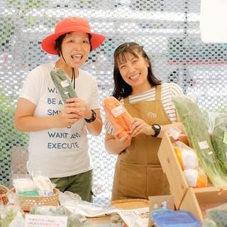 私達、野菜ソムリエが信頼する農家さんの野菜を調理します!