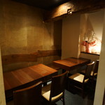 バル エル ロシオ - テーブル席