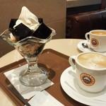 サンマルクカフェ - コーヒーゼリーソフト