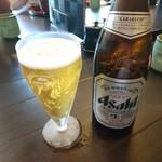 柳橋 こだに - 瓶ビール 2017年7月
