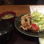 目黒キッチン - 生姜焼き定食
