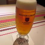 Restaurant OCEM - 生ビール
