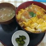 笑顔の郷 - 料理写真:2017.06カツ丼