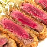 洋食SAEKI - ビフカツ…さすが!p(^_^)q