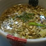 中華そば多賀野 - つけ汁