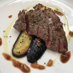 ナスキノ - 黒毛和牛のステーキ