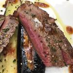 ナスキノ - 黒毛和牛のステーキ アップ
