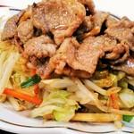 香雅 - 肉野菜炒め定食