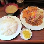 キッチン太郎 - 太郎焼肉&チキンカツ¥850