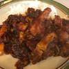 ゴッホ - 料理写真:肉いっぱい(チキン)のカリー 1200円(ボークかつとのミックス)