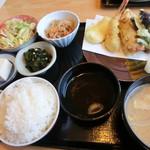魚処おおたけ - 天ぷら定食