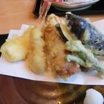 魚処おおたけ - 天ぷら